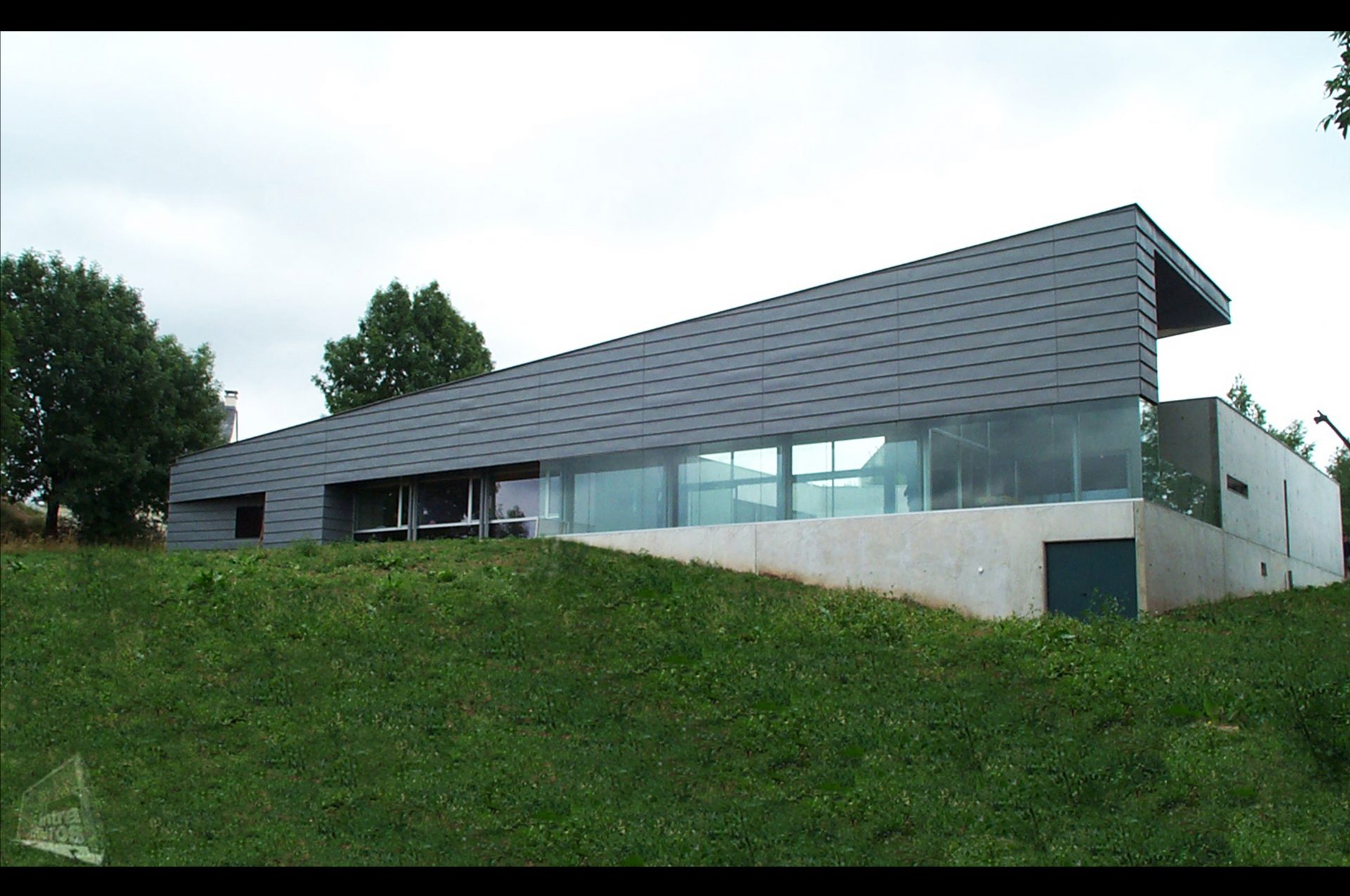 Construction de maisons contemporaines